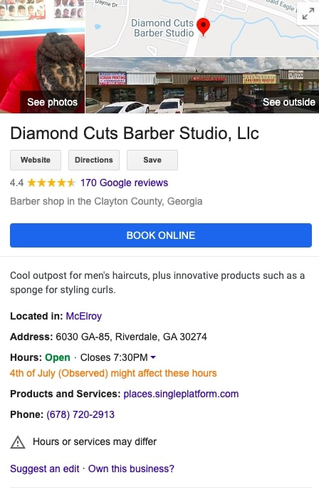How to sell a service: Diamond Cuts