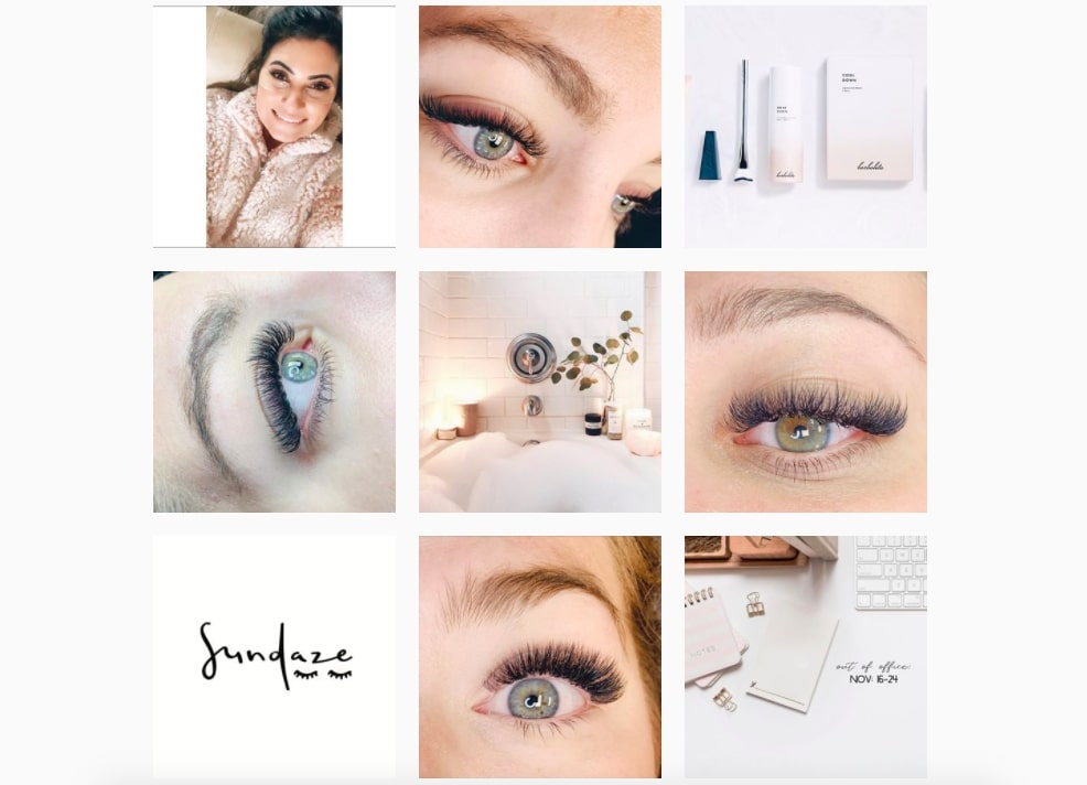 How to sell a service: Sundaze Lashes