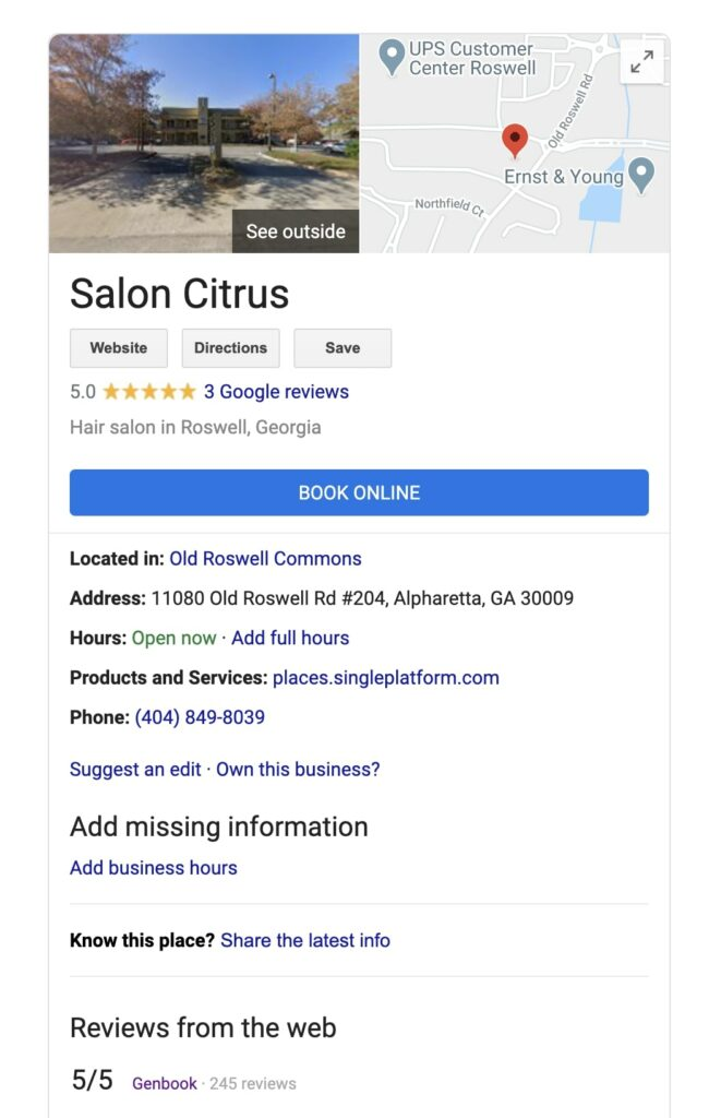 How to make money as a hairstylist: Salon Citrus2