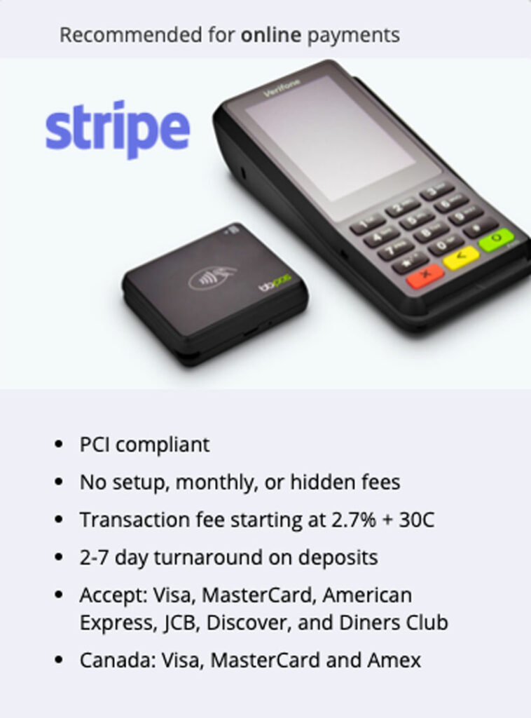 Stripe Payment Processing Systems