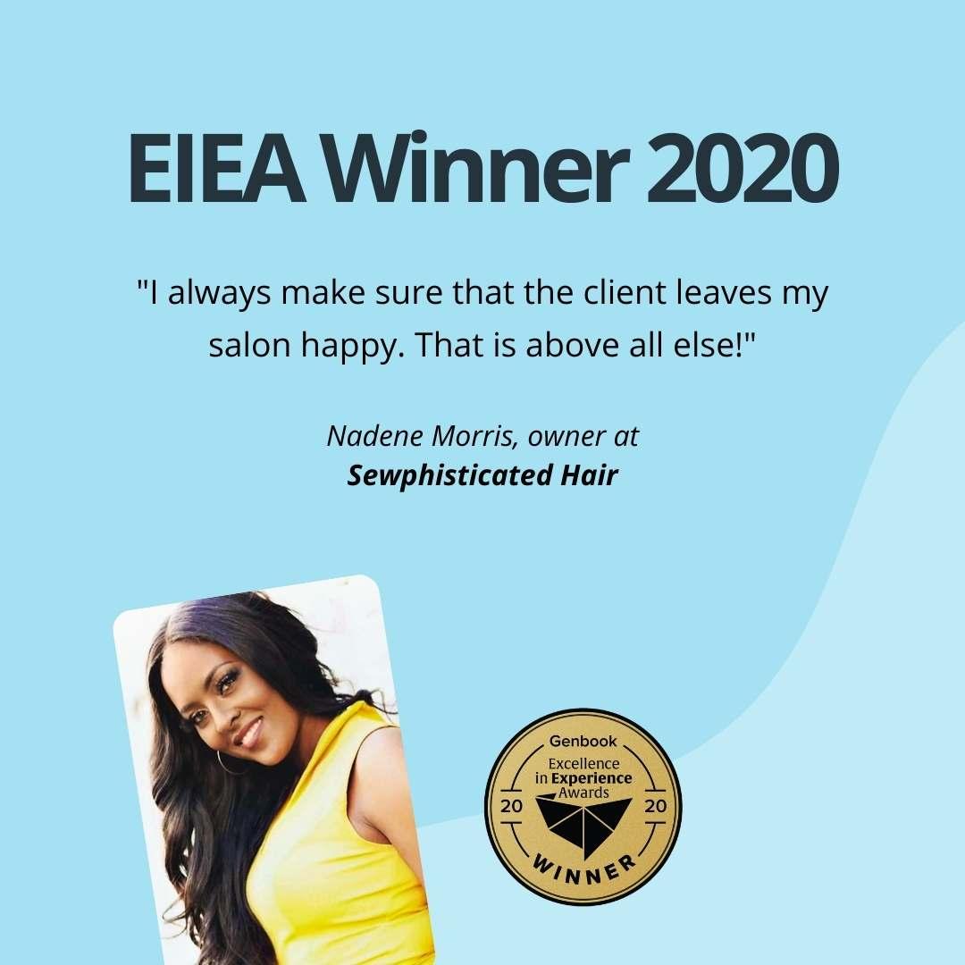 Nadene Morris, owner at Sewphisticated Hair