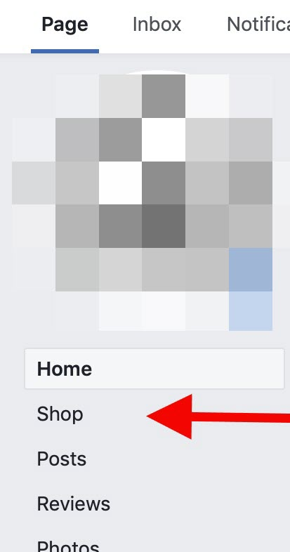 Click on Shops icon