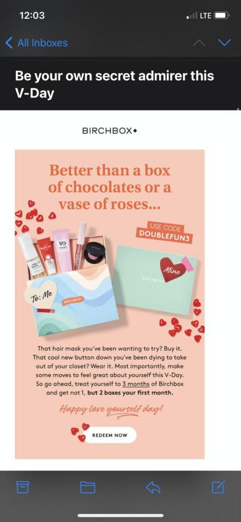 Valentine'day marketing ideas : promote self love