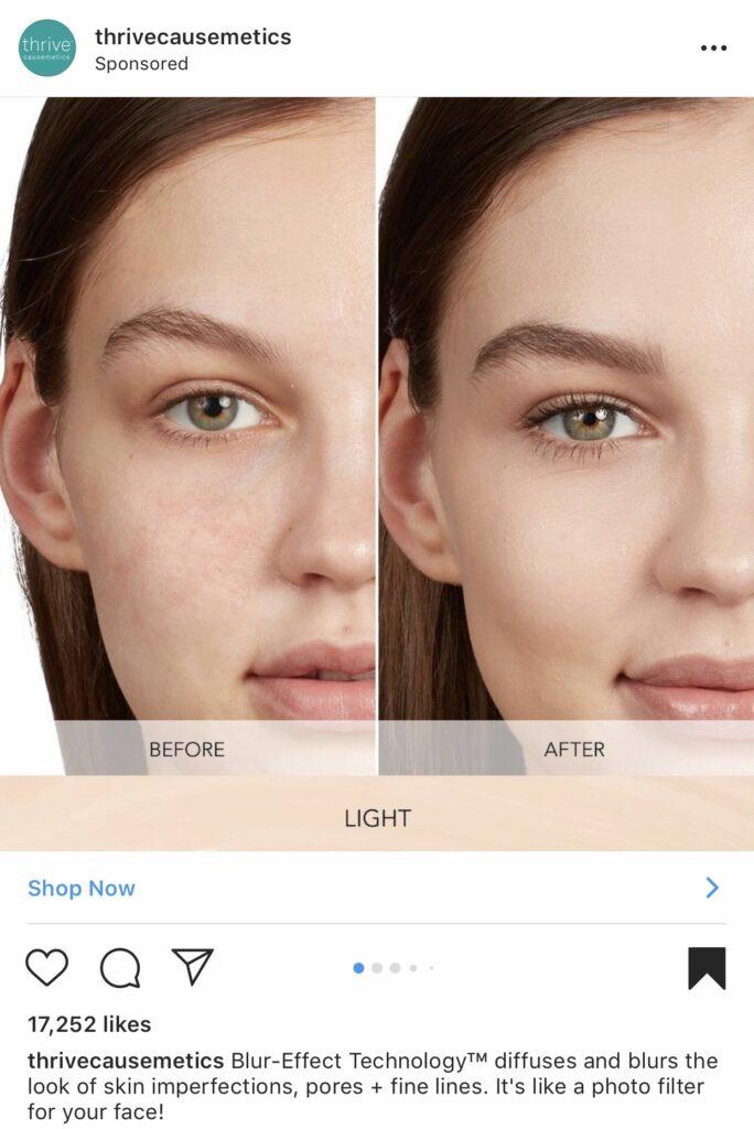 Boost awareness through Insta ads