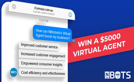 Nitrobots is giving away a $5000 Virtual Agent!