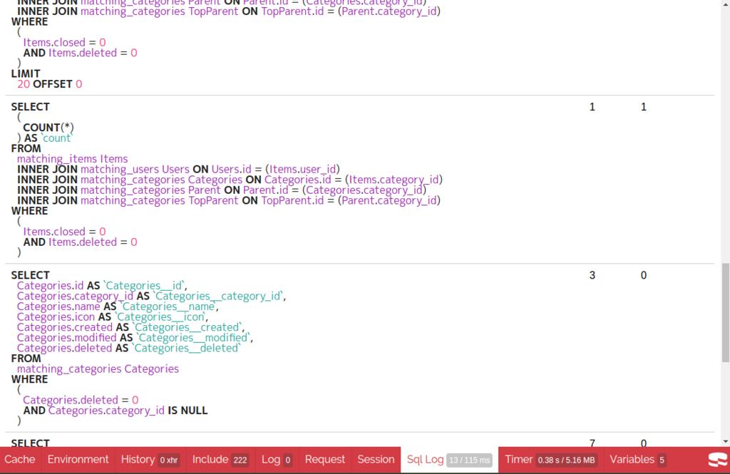 開発時はSQLのログを見よう