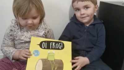 Kiddies Day Out Stories - Oi Frog