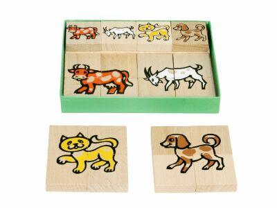 Animal Block Puzzle (24pcs)