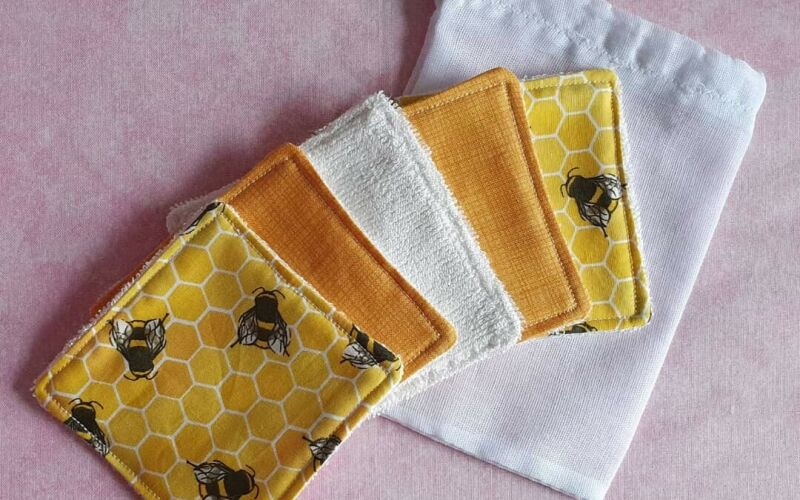 Bumblebee reusable/washable makeup removal pads