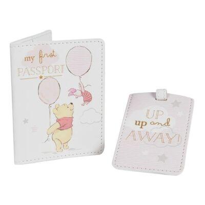 Disney Magical Beginnings Passport & Luggage Tag Pooh (Girl)