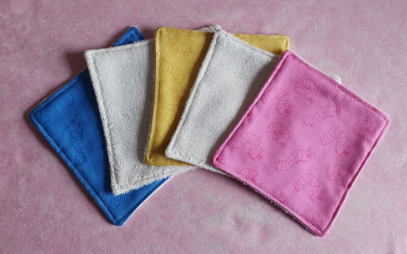 Eco friendly reusable mix colour baby wipes P