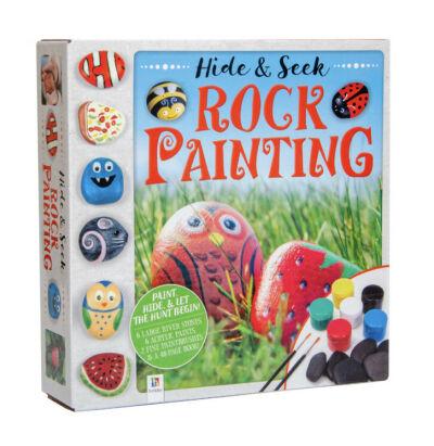 Hide & Seek - Rock Painting