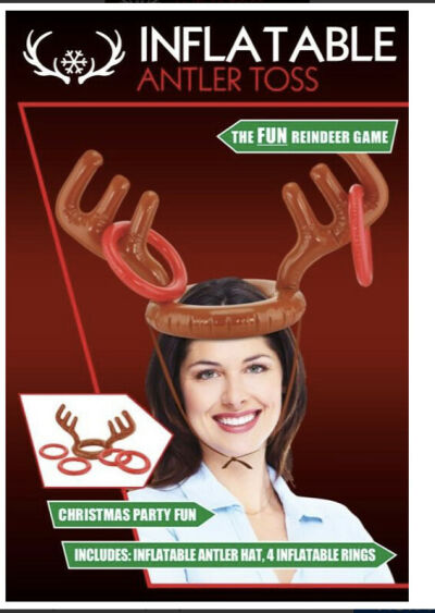 Inflatable Antler Toss