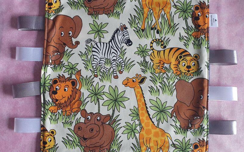 Jungle taggie comforter blanket