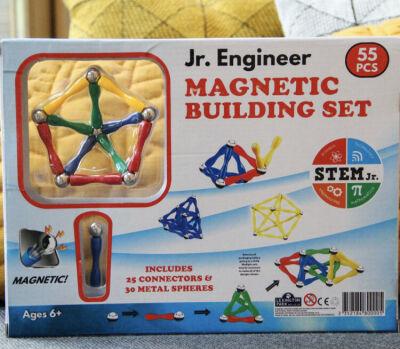 Junior Engineer 55pb magnetic building set