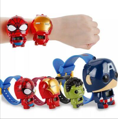 Kids Superhero Digital Watches