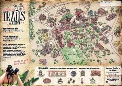 Leighton Buzzard Treasure Map Trail