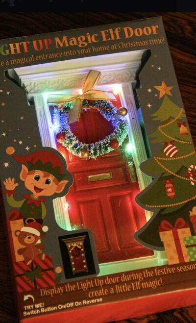 Light Up Magic Elf Door