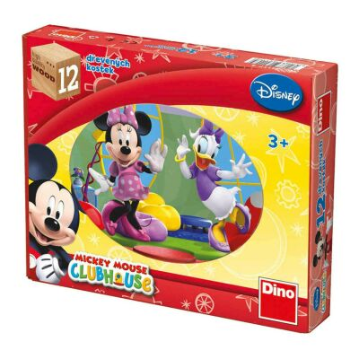 Mickey Mouse Block Puzzle (12pcs)