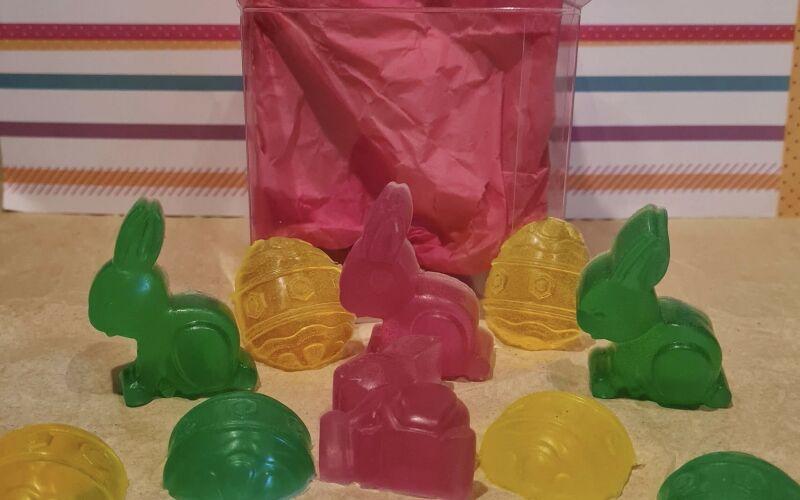 Mini soap boxes