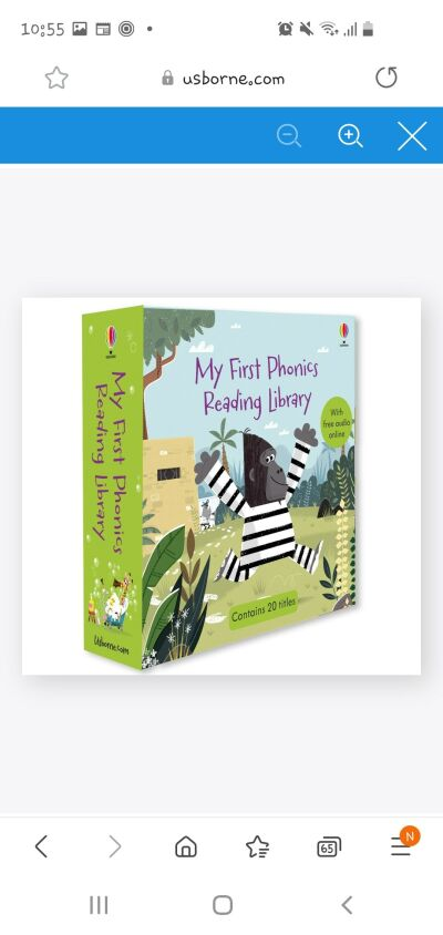 My first Phonics library