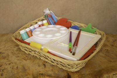 Paint Splash Basket