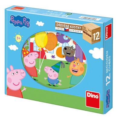 Peppa Pig Block Puzzle (12pcs)