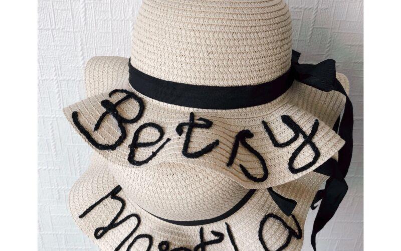 Personalised Children's Straw Hat