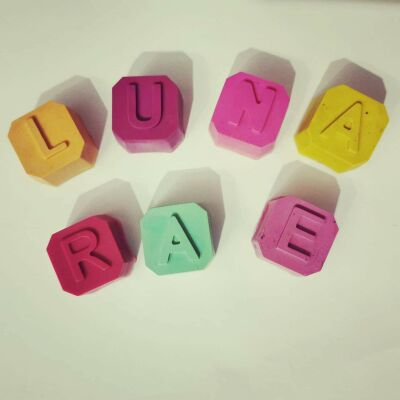 Personalised Crayons