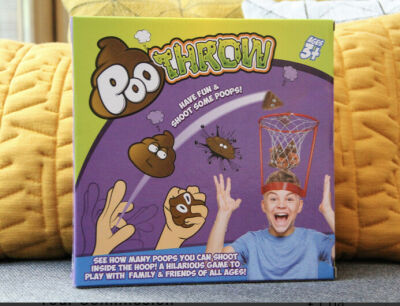 Poo Throw Game