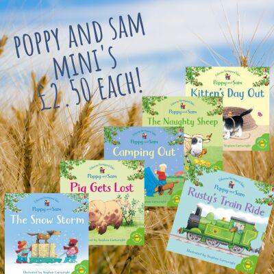 Poppy and Sam Farmyard Tale Mini's