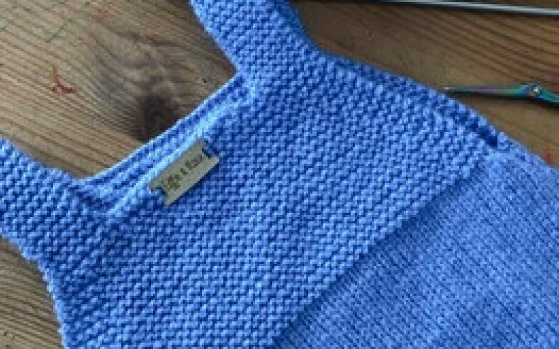 Image to for Ready To Post - Bluebell Heirloom Romper