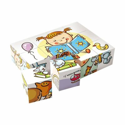 Sequence Of Events Block Puzzle (12pcs)