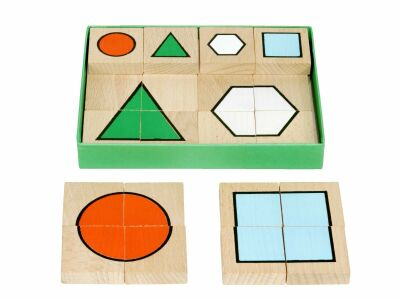 Shapes Block Puzzle (24pcs)