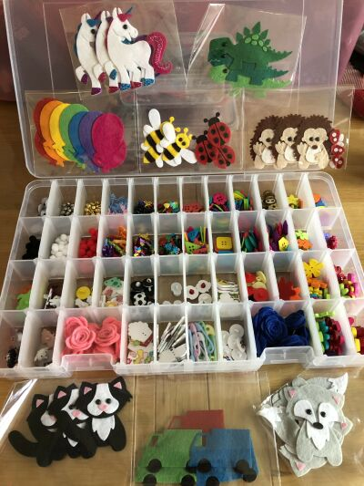 Felt Gifts and Badges