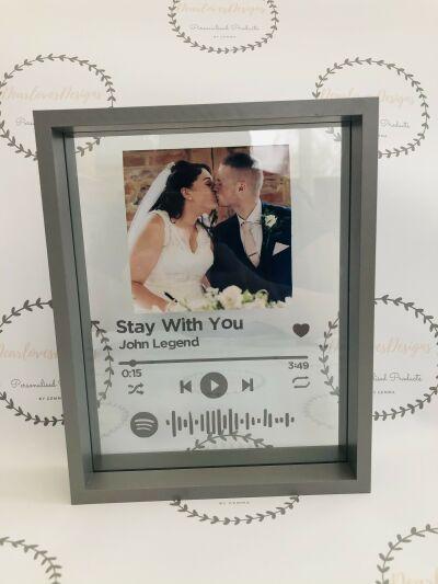 Spotify frames