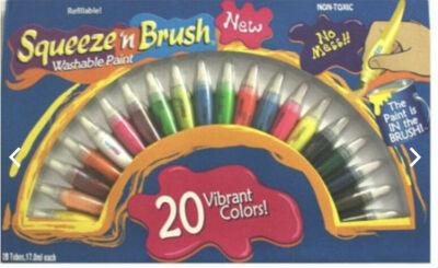Squeeze Brush 20 Paint Set