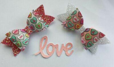 Sweet Heart Bows