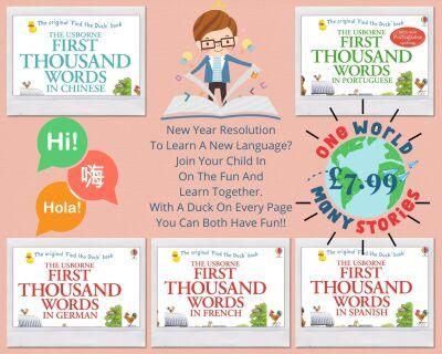 Usborne Books languages