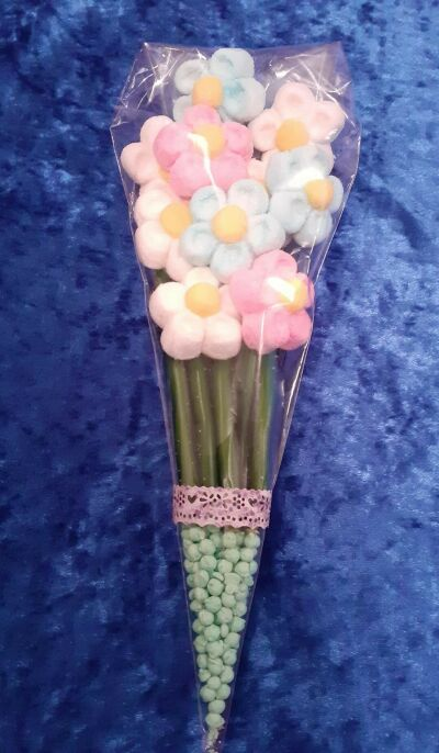 Valentines Day and Mothers Day sweet cones