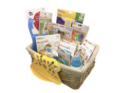 Weaning Gift Basket: 4-6 months (Boy)