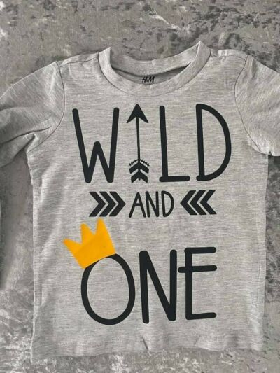 Wild and one tshirt