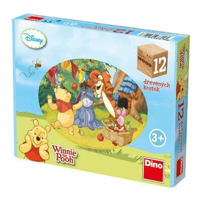 Winnie The Pooh Block Puzzle (12pcs)