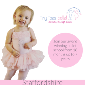 Award Winning - Tiny Toes Ballet Staffordshire