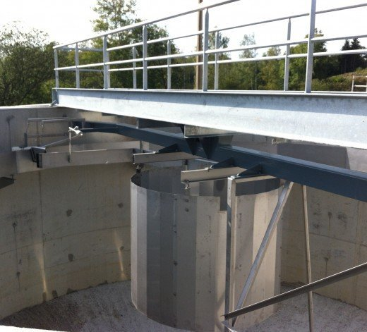 Water treatment plant at Anlier - Belgium 9