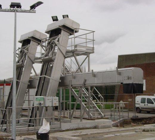 Station de pompage à Ghlin - Belgique 24