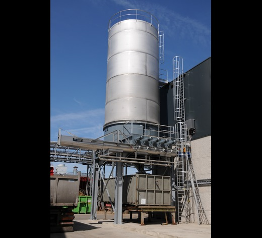 Silo for potato chips - Agristo Tilburg - Netherlands 16