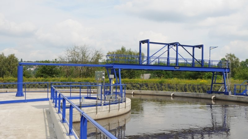 Station d'épuration d'Amay - Belgique 22