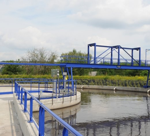 Water treatment plant at Amay - Belgium 22