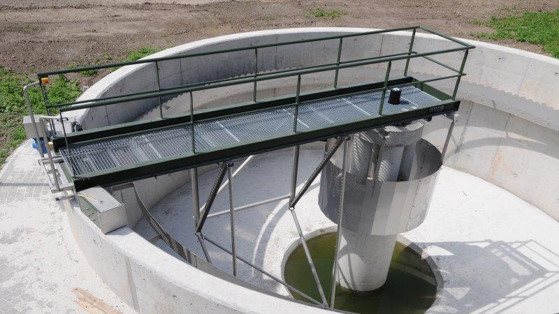 Waterzuiveringsstation te Sirault - België 5